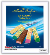 Шоколадные батончики Maitre Truffout Grazioso selection Classic style 200 гр