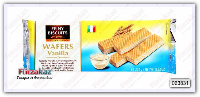 Вафли Feiny Biscuits с ванильной начинкой 250 гр