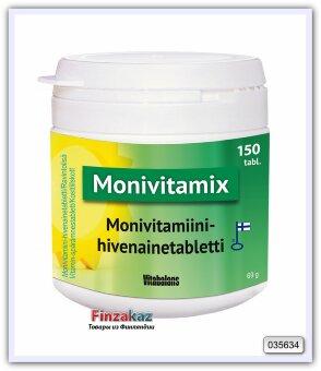 Поливитаминная таблетка с микроэлементами Monivitamix Vitabalans 150 таб