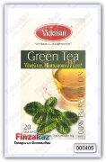 Чай Victorian (зелёный с мятой) 20 шт