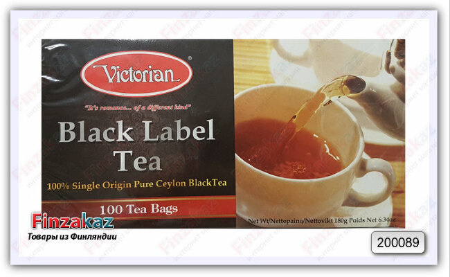 Чай Victorian (чёрный) 100 шт