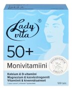 Витаминно-минеральный комплекс для женщин старше 50 лет Ladyvita 50+ 120 таблеток