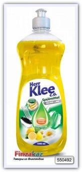 Средство для мытья посуды Herr Klee C. G. Silver Line (Лимон и ромашка) 1 л