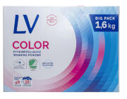 Концентрированный стиральный порошок для цветного белья LV (для цветного) - 1,6 кг