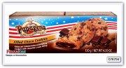Печенье с кусочками шоколада и шоколадно-кремовой начинкой PapagenaChoco Chip Cookies with chocolate cream filling 130g