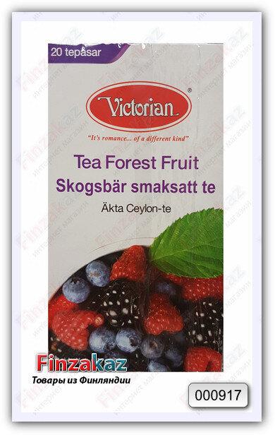 Чай Victorian (чёрный с ягодами) 20 шт