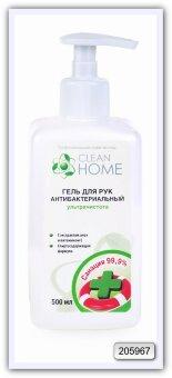 Антибактериальный гель для рук CLEAN HOME 500 мл
