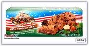 Печенье с кусочками шоколада и орехово -кремовой начинкой Papagena Choco chip cookies with hazelnut cream filling 130 гр