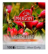 Чай травяной Mervin Ruusunmarja (шиповник) 100 пак