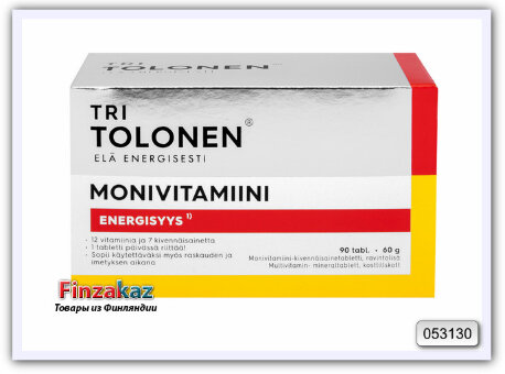 Витамины TRI TOLONEN Monivitamiini 90 шт