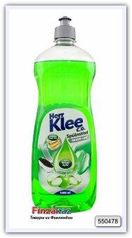 Средство для мытья посуды Herr Klee C. G. Silver Line (яблоко) 1 л