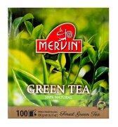 Чай зелёный Mervin  Green Tea 100 пак