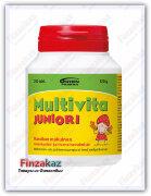 Мультивитамины для детей Multivita juniori (клубника)
