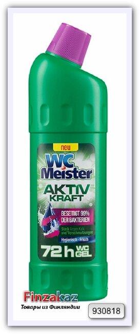 Гель для чистки туалета WC Meister Aktiv Kraft Grun 1 л