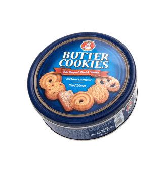 """Сливочное печенье и сливочное печенье с кусочками шоколада Danesita """" BUTTER COOKIES""""  454 гр"""