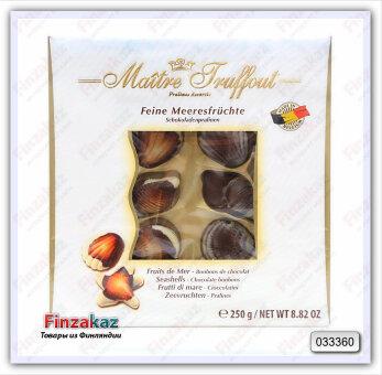 "Шоколадные конфеты ""Ракушки"" Maitre Truffout  250 гр"