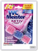 Блок для унитаза WC Meister с запахом экзотических цветов 45 гр