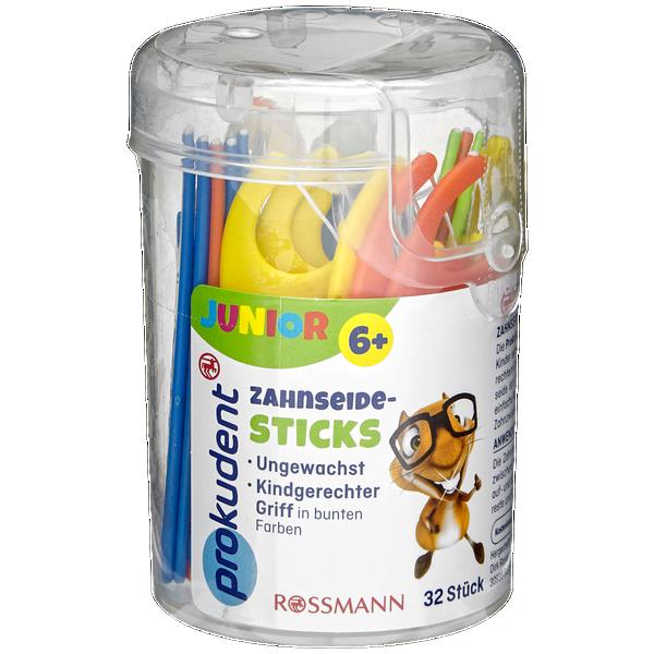 Зубные чистящие палочки PROKUDENT Kids 32 шт