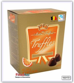 """Шоколадные конфеты """"Трюфель с какао"""" со вкусом апельсина Maitre Truffout 200 гр"""
