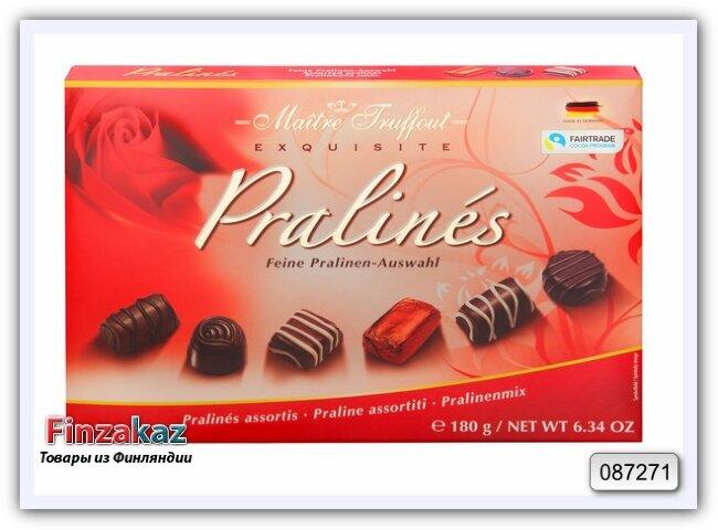 Ассорти конфет MaitreTruffout assorted pralines 180 гр