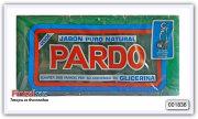 Мыло-пятновыводитель натуральное Pardo (зелёное) 3 шт