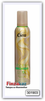 """Пенка для  волос """"объём"""" нормальной фиксации № 4 Cien 250 мл"""
