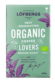Кофе заварной Löfbergs Lila Next Generation ORGANIC Coffee Lovers medium 450 гр