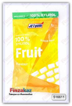 Жевательная резинка JETgum (фрукты) 80 гр