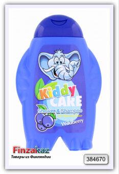 Детский шампунь для волос и  тела Kiddy care wildberry 300 мл