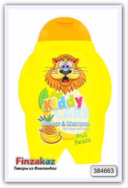 Детский шампунь для волос и  тела Kiddy care Fruit parade 300 мл
