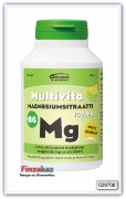 Цитрат магния+В6, жевательные таблетки со вкусом лимон/лайм для укрепления мышечной и костной ткани MULTIVITA MAGNESIUMSITRAATTI + B6 LIME-SITRUUNA 90 шт.