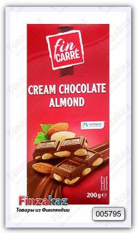 Шоколад Fin Carre (с миндалём) 200 гр