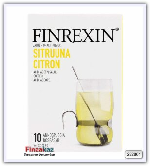 Финский антигриппин Finrexin Neo (лимон)
