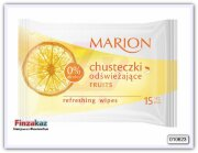Салфетки освежающие Marion chusteczki odświeżające Fruits 15 шт