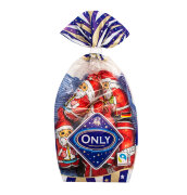 Шоколадные фигурки Санта Клаусов ONLY 100 гр