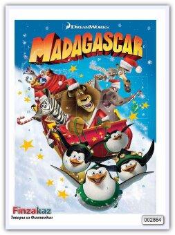 Шоколадный календарь Windel Madagascar Adventskalender 75 гр