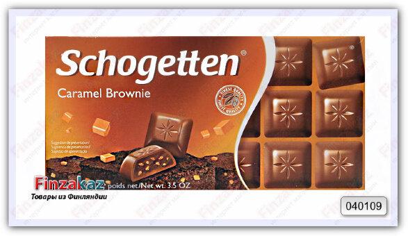 Schogetten Молочный Шоколад с карамелью 100гр