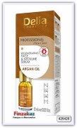 Сыворотка Delia cosmetics Argan Oil для лица шеи и декольте против морщин. Интенсивная регенерирующая и омолаживающая терапия 10 мл
