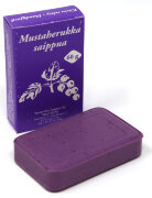Финское натуральное мыло Mustaberrukka saippua (черная смородина) 60 г