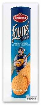 Печенье с кремовой ванильной начинкой Hellema 500 гр