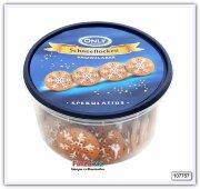 Печенье пряное с сахарной глазурью Only Snowflakes Spekulatius biscuits 300 гр