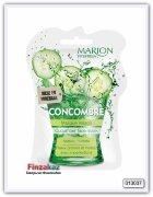 """Маска для лица и декольте Marion  Fit & Fresh """"ОГУРЕЦ"""" кремовая, 7,5мл"""