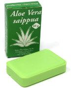 Финское натуральное мыло Aloe Vera saippua (Алоэ вера) 60 г