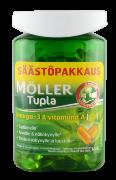 Рыбий жир в капсулах Moller Tupla 150 шт