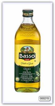Масло оливковое рафинированное с добавлением масла оливкового нерафинированного Basso olive oil 1 л