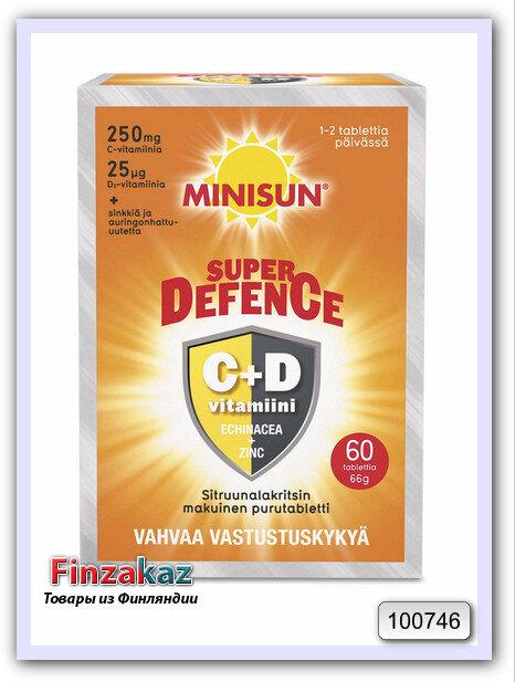 Minisun Defence витамины C и D3