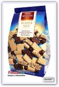 Ассорти из вафель и вафель с темным шоколадом Feiny Biscuits 400 гр