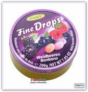 Карамель леденцовая со вкусом лесных ягод Woogie (малина,ежевика,черника) 200 гр