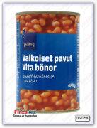 Фасоль белая в томатном соусе  Rainbow 420 гр