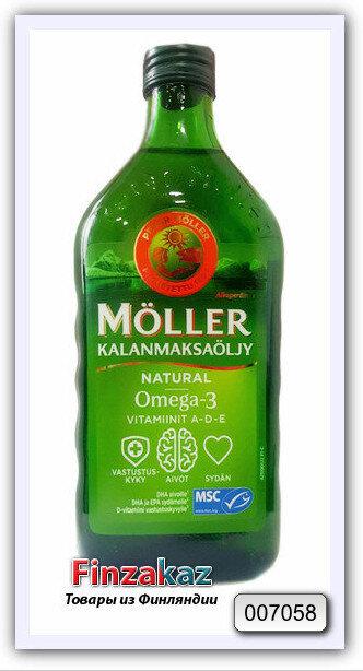 Рыбий жир Moller 250 мл